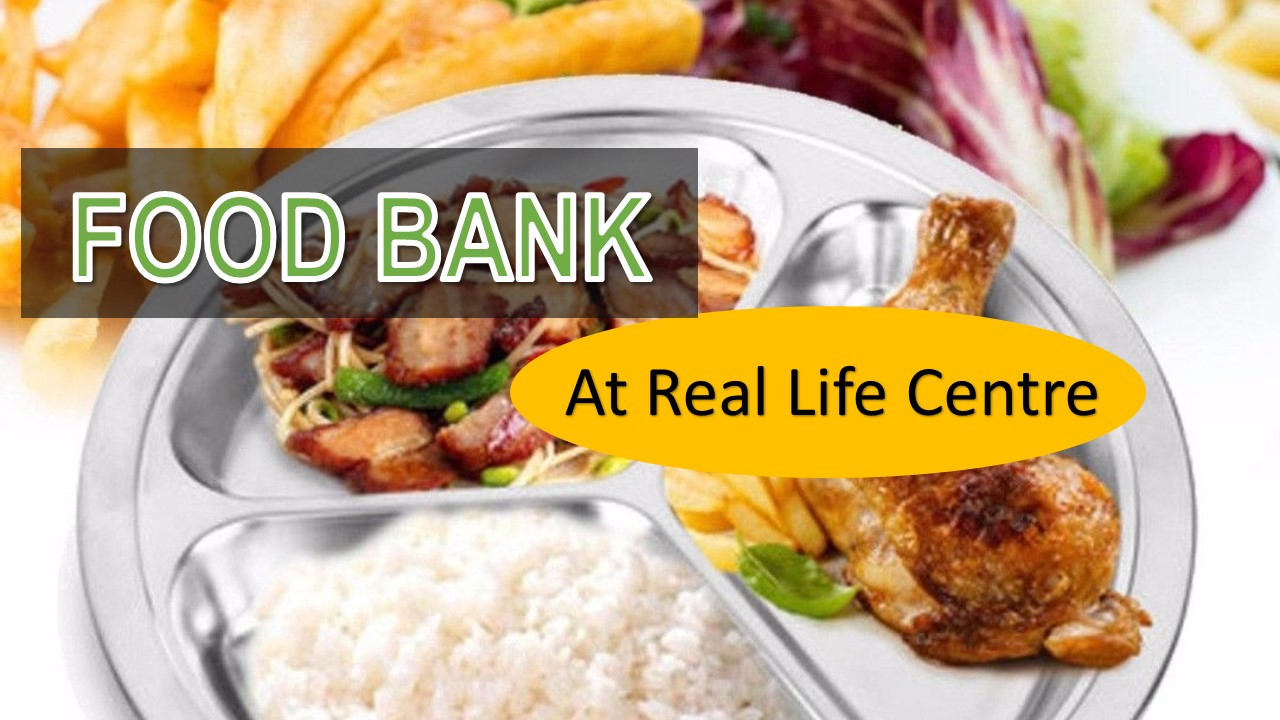 Food Bank at Real Life Centre, Eltham, London